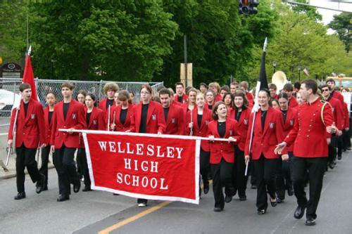 Wellesley High School Marching Band 2005